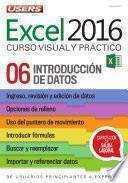 libro Excel 2016 – Introducción De Datos