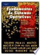 libro Fundamentos De Sistemas Operativos