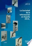 libro La Sociedad De La Información En España 2016