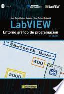 libro Labview : Entorno Gráfico De Programación