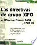 libro Las Directivas De Grupo (gpo) En Windows Server 2008 Y 2008 R2