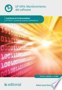 libro Mantenimiento Del Software. Ifct0510