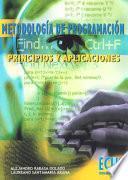 libro Metodología De Programación. Principios Y Aplicaciones