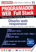 libro Programacion Web Full Stack 11   Diseño Web Responsive