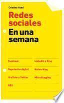 libro Redes Sociales En Una Semana