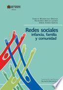 libro Redes Sociales, Infancia, Familia Y Comunidad
