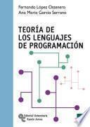 libro Teoría De Los Lenguajes De Programación