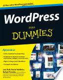 libro WordPress Para Dummies