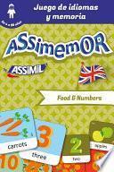 libro Assimemor   Mis Primeras Palabras En Inglés: Food And Numbers