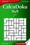 libro Calcudoku 9x9   Fácil   Volumen 8   276 Puzzles