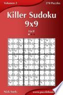libro Killer Sudoku 9x9   Fácil   Volumen 2   270 Puzzles