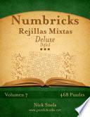 libro Numbricks Rejillas Mixtas Deluxe   Difícil   Volumen 7   468 Puzzles