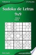 libro Sudoku De Letras 9x9   Difícil   Volumen 8   276 Puzzles