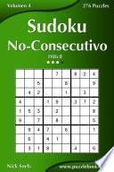libro Sudoku No Consecutivo   Difícil   Volumen 4   276 Puzzles
