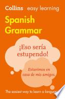 libro Easy Learning Spanish Grammar (collins Easy Learning Spanish)