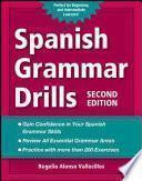 libro Spanish Grammar Drills