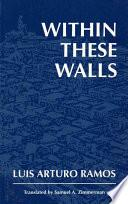 libro Within These Walls