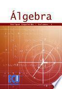 libro Álgebra. Vol. I