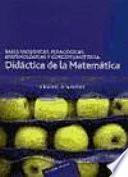 libro Bases Filosóficas, Pedagógicas, Epistemológicas Y Conceptuales De La Didáctica De La Matemática