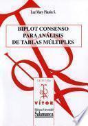 libro Biplot Consenso Para Análisis De Tablas Múltiples