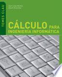 libro Cálculo Para Ingeniería Informática