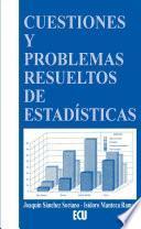 libro Cuestiones Y Problemas Resueltos De Estadística