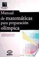 libro Manual De Matemáticas Para Preparación Olímpica