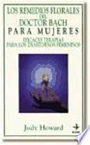 libro Los Remedios Florales Del Doctor Bach Para Las Mujeres