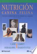 libro Nutrición Canina Y Felina