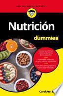 libro Nutrición Para Dummies