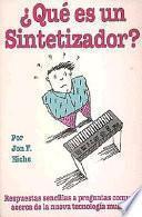 libro QuŽ Es Un Sintetizador?