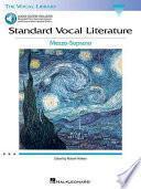 libro Standard Vocal Literature