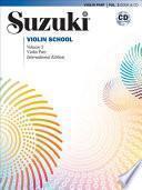libro Suzuki Violin School