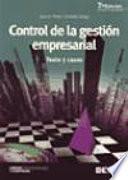 libro Control De La Gestion Empresarial (7 Ed)