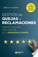 libro Gestión De Quejas Y Reclamaciones