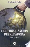 libro La Globalización Depredadora