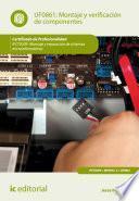 libro Montaje Y Verificación De Componentes. Ifct0309