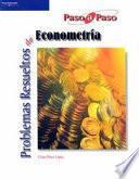 libro Problemas Resueltos De Econometría