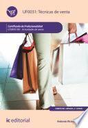 libro Técnicas De Venta. Comv0108