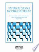 libro Sistema De Cuentas Nacionales De México. Indicadores De La Actividad Industrial. Serie Empalmada 1980 1996. Base 1993