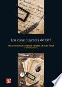 libro Los Constituyentes De 1917