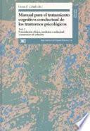libro Formulación Clínica, Medicina Conductual Y Trastornos De Relación