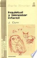 libro Inquietud Y Bienestar Infantil