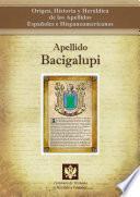 libro Apellido Bacigalupi