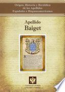 libro Apellido Baiget
