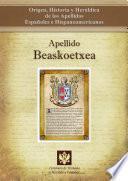 libro Apellido Beaskoetxea