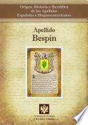libro Apellido Bespín