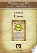 libro Apellido Canós