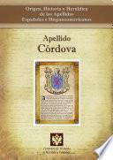 libro Apellido Córdoba