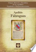 libro Apellido Fábregues